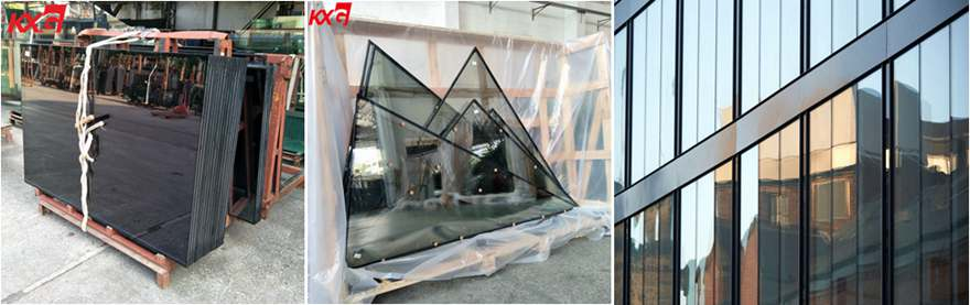 insulated glass curtain wall