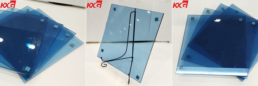 6mm blue toughened glass