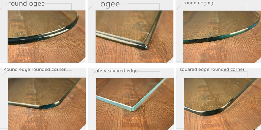tempered glass edge details