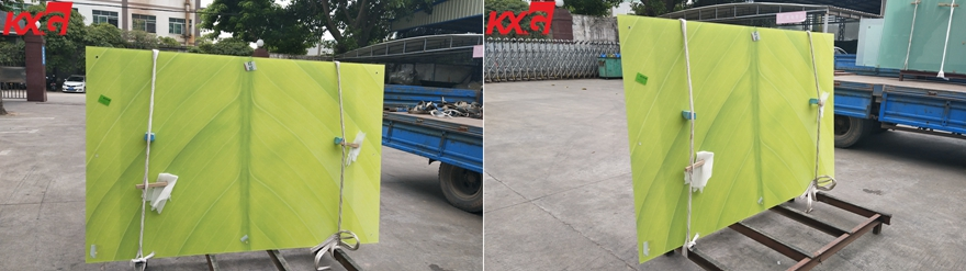 digital printing tempered glass