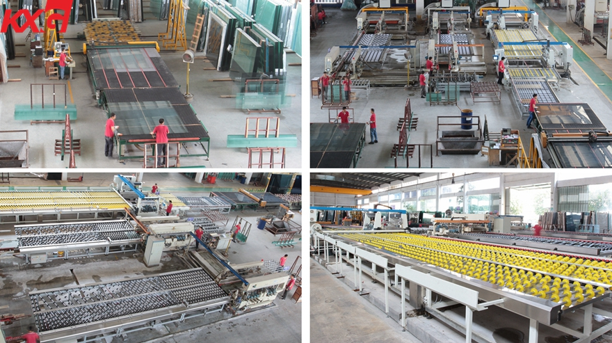 Clear Tempered Glass production line