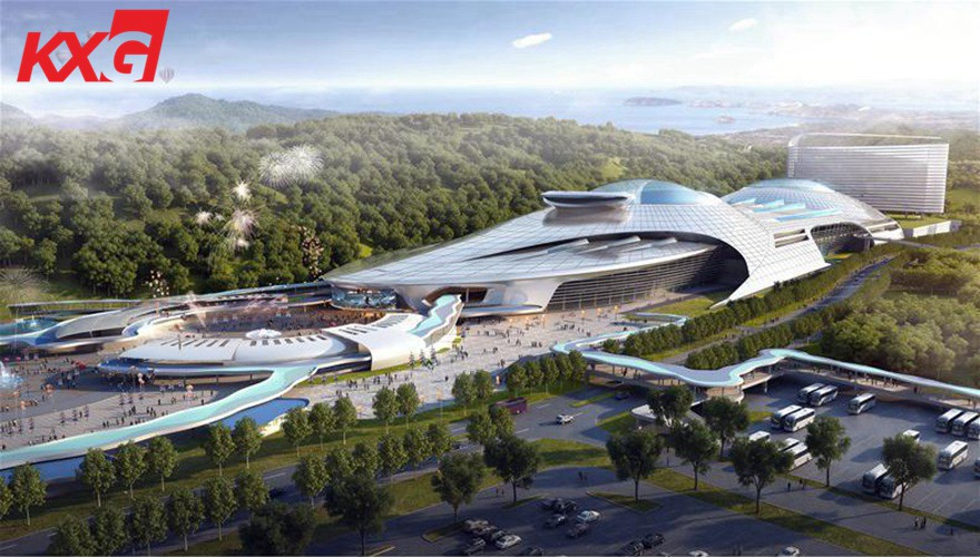 Zhuhai chimelong Marine science museum