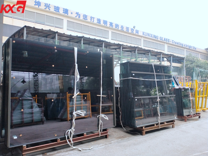 jumbo size safety tempered insulated glass