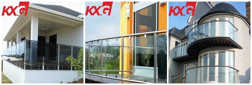 19mm tempered glass fence