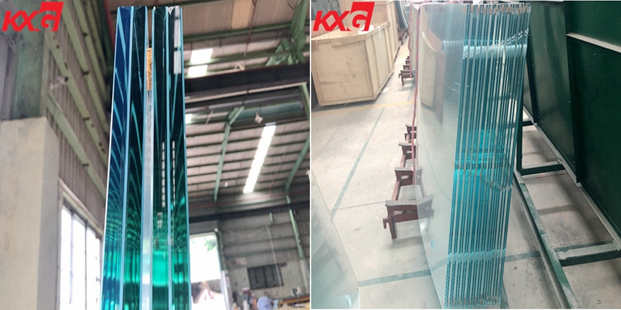 ultra clear safety toughened lamianted glass