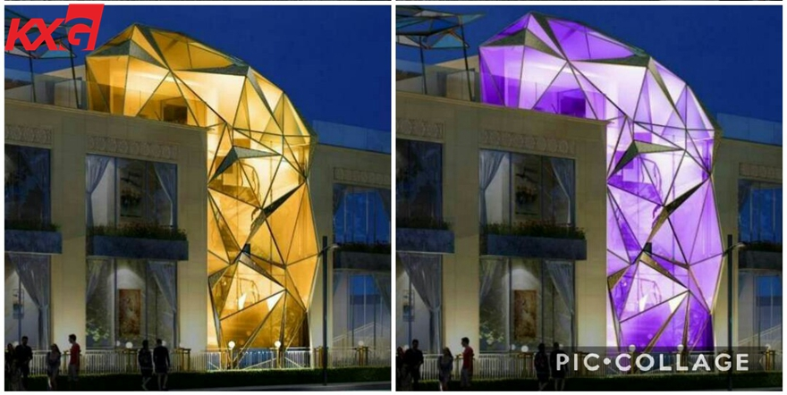 double glass on Dubai project