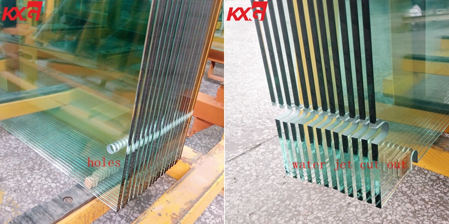 10mm tempered building glass factory