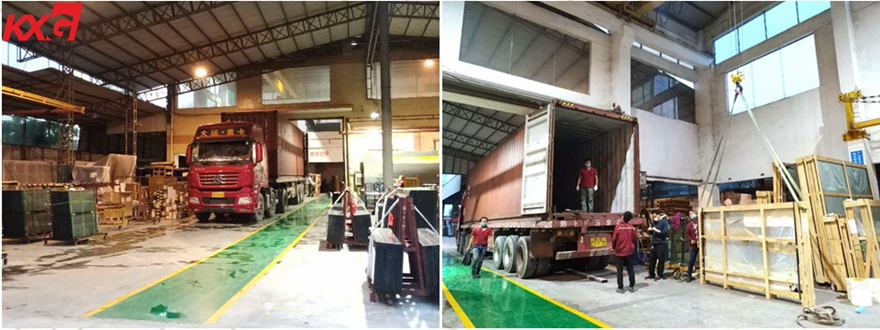 KXG exports building glass to Malaysia