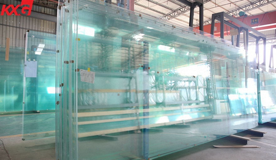 jumbo size extra clear tempered glass