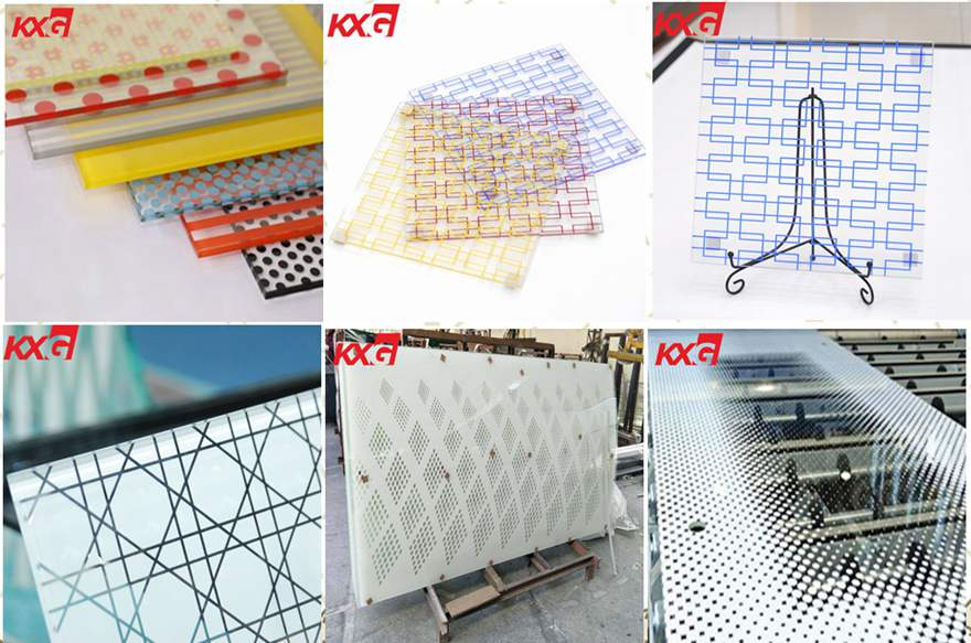 KXG silkscreen printing glass