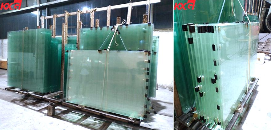 KXG tempered sgp laminated glass