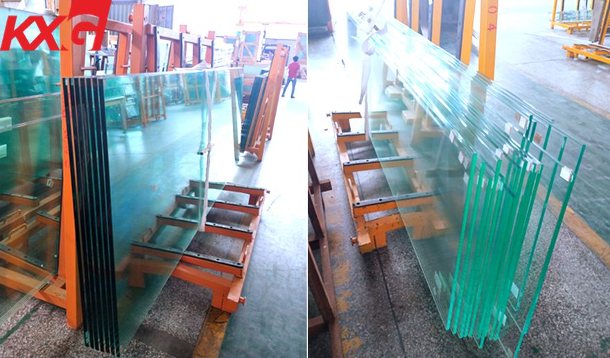 12mm clear tempered glass