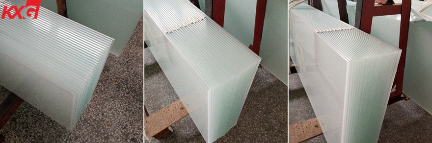 China buinding glass frosted tempered glass