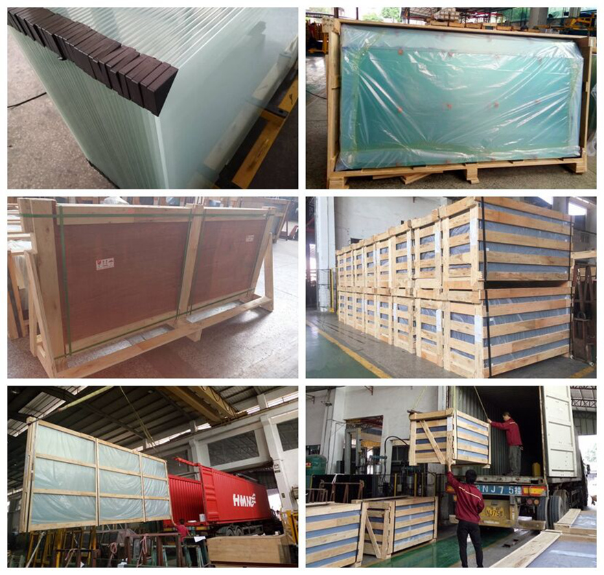 Kunxing glass factory packing