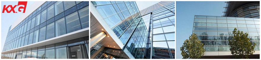 Thermal insulation glass for curtain wall-customized 6mm 9A 6mm insulated glass