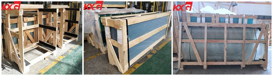 Kunxing Safety Window Glass Packing