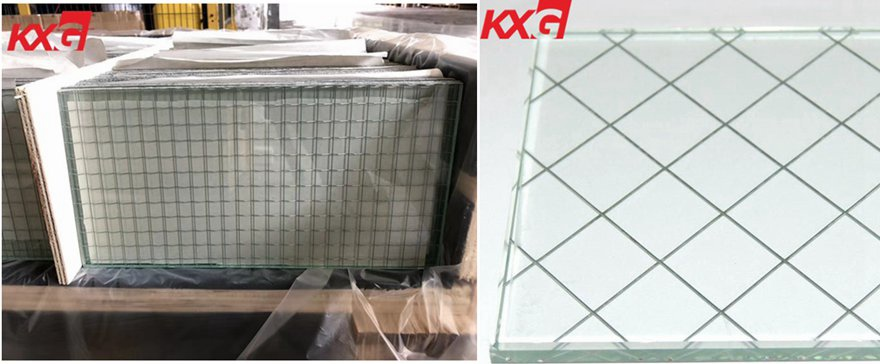 fire-proof wire glass