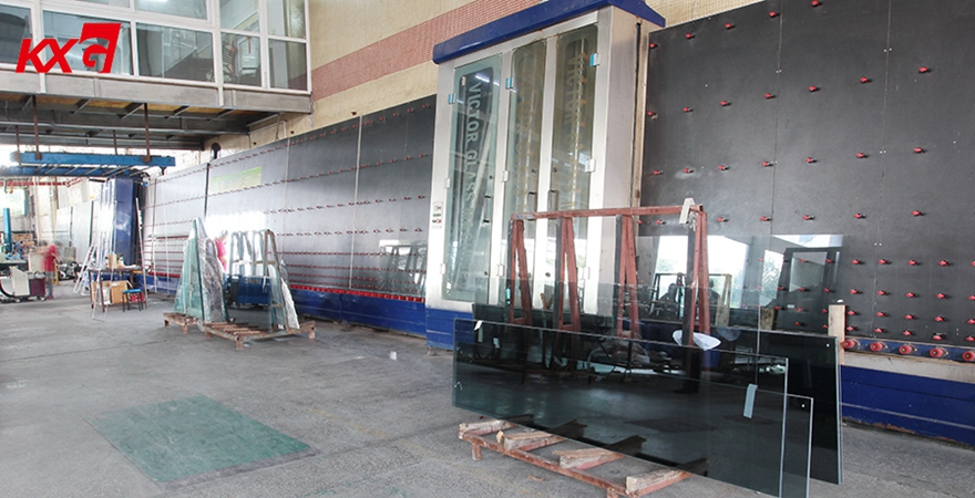 double glazing glass production line