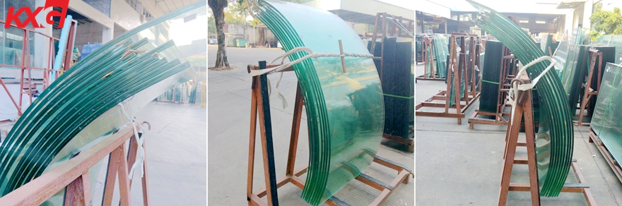 safety curved laminated tempered glass factory