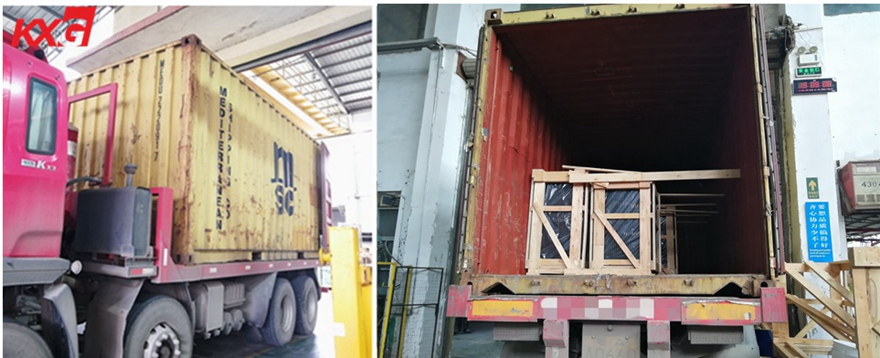 KXG Loading insulated glass to Philippines