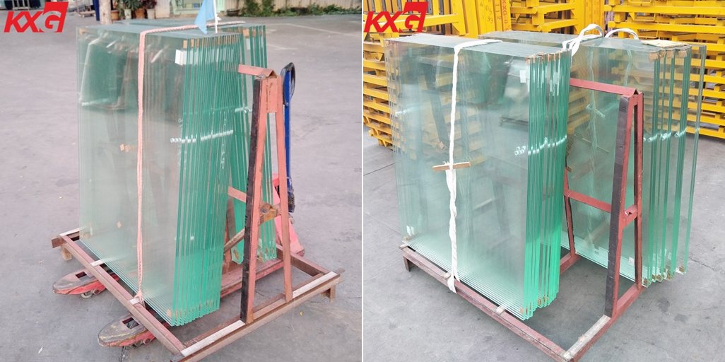 13.52 clear toughened laminated glass railing
