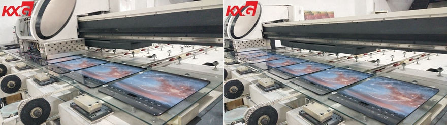 KXG digital printing glass factory