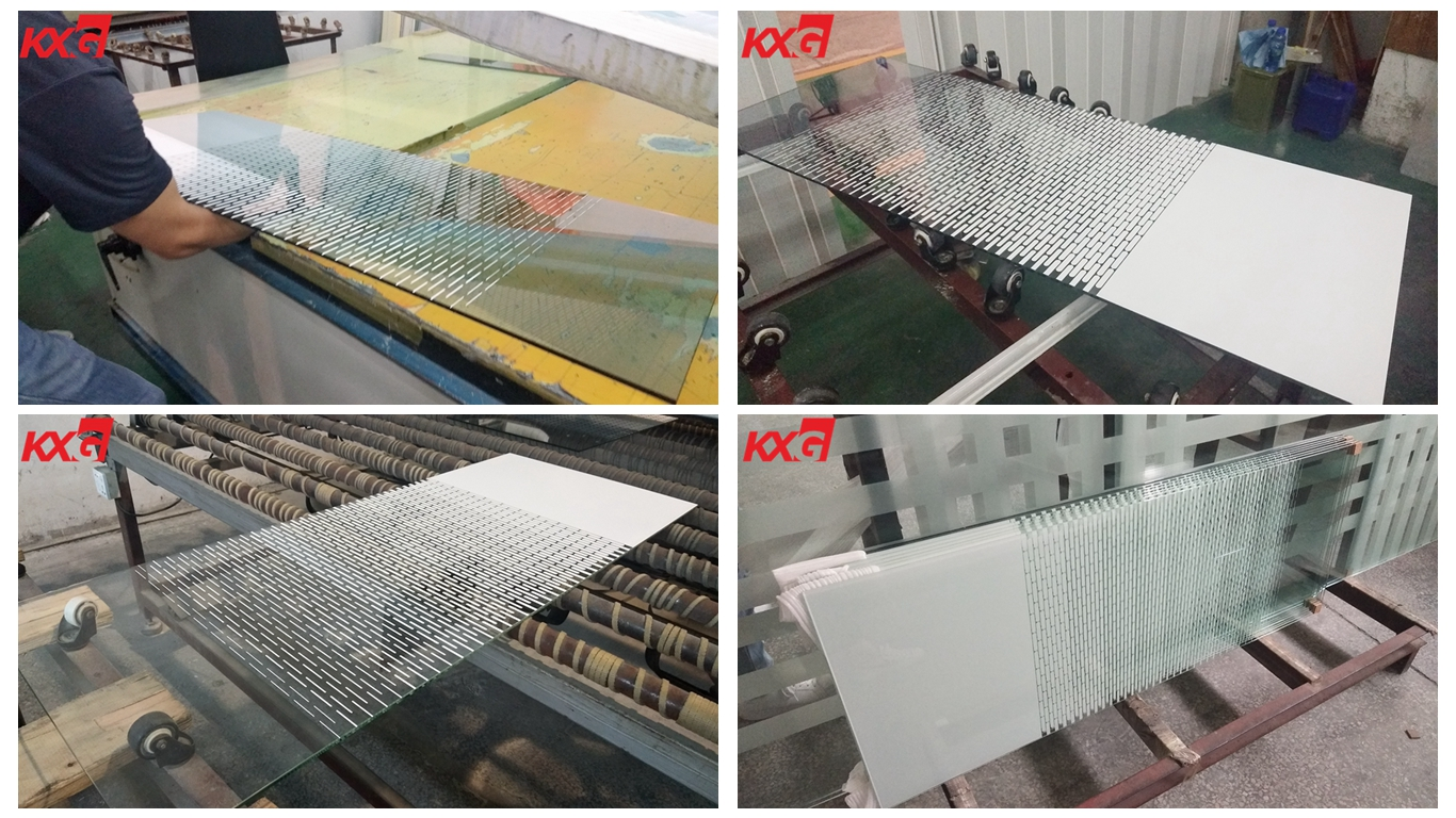 13.52mm silk screen printing tempered glass