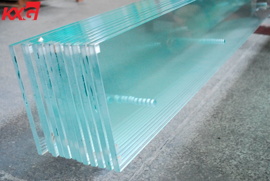 19mm ultra clear tempered glass