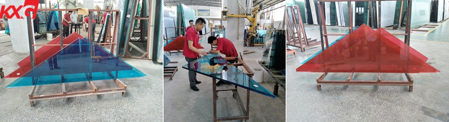 KXG color laminated glass