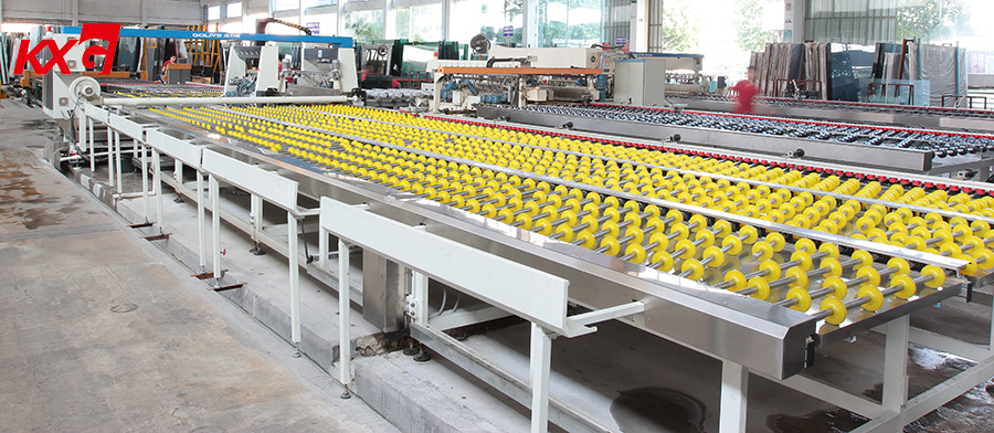 KXG automatic glass edging production line