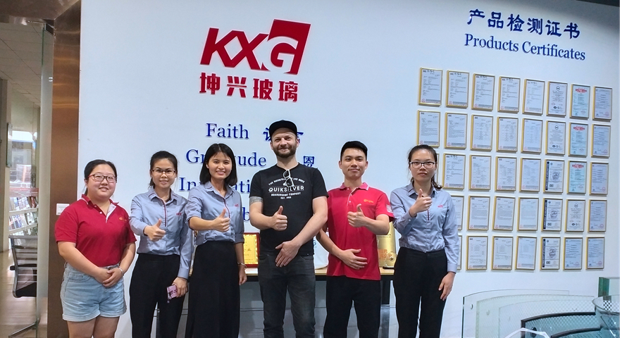 American customer and KXG sales team