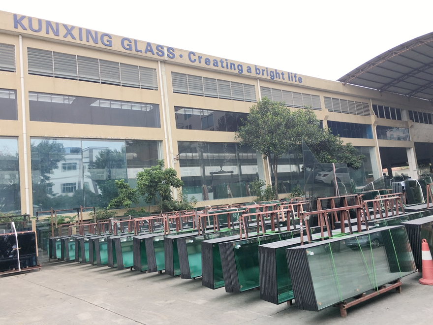 insulated double glazing glass factory