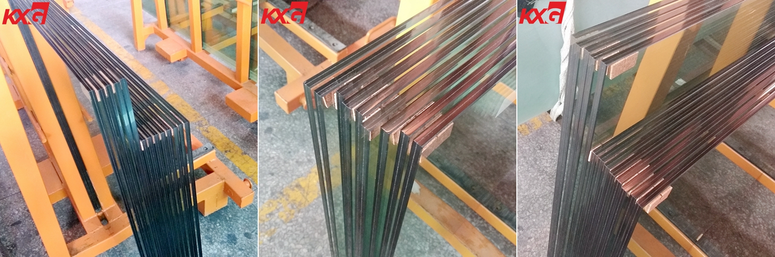 551 clear heat strengthened laminated glass