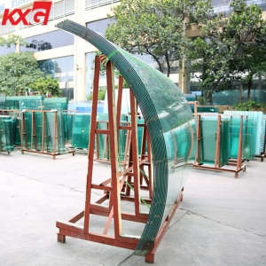 12mm curved balustrade glass panel,curved glass railing tempered factory price