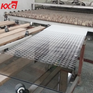13.52mm silk screen printing decorative tempered laminated safety glass China building glass factory