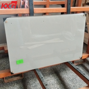 5mm silk screen printing splashback tempered glass produce by KXG building glass factory China