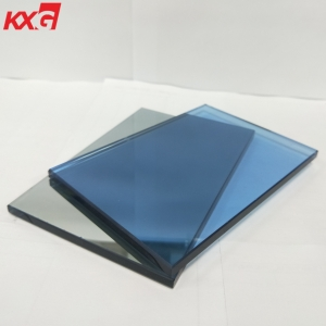6mm blue tinted tempered glass manufacturer-buy 6mm light blue toughened glass
