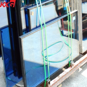 8mm-6A-8mm tempered double glazing glass panels for commercial windows, building insulated glass unit