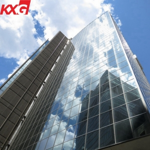 Building glass manufacture export facade point-fixed spider glass energy saving curtain wall glass
