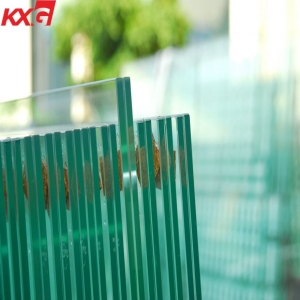 China 10.76mm clear laminated glass,552 laminated safety architectural glass factory