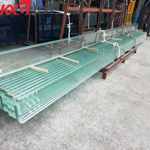 China 10.76mm jumbo size safety laminated glass factory,high quality 552 clear toughened PVB laminated glass