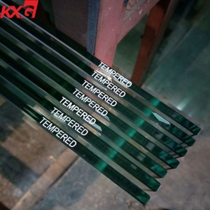 China Kunxing glass factory supply CE Certificate 12mm Clear Toughened Glass