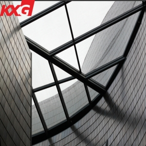 China architectural glass factory 8mm safety tempered canopy glass price