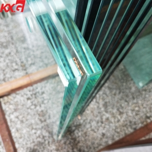 China building manufacturer 8mm low iron extra clear tempered glass, 8mm ultra clear toughened glass
