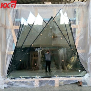 China factory price energy saving DGU solar control 6mm+12Argon+6mm safety tempered insulated glass curtain wall