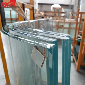 China factory ultra clear 25.52mm 26.28mm 27.04mm 12+12mm flat and curved safety low iron tempered SGP laminated glass