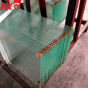 China heat soaked test glass factory heat soaked toughened ultra clear flat safety glass goods