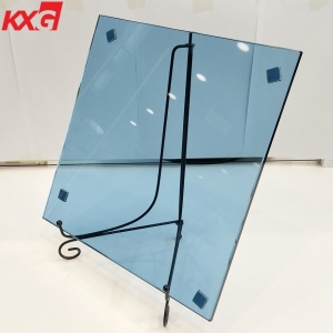 China professional building glass factory produce 6mm blue tinted tempered glass 6mm blue color toughened glass price