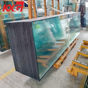 Custom made heat resistant and sound control tempered insulated glass China supplier