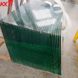 Cut to size clear 12mm tempered glass ,CE Certificate 12mm